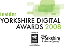 Yorkshire Digital award logo winner 2008
